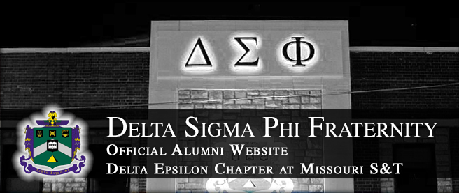 Delta Sigma Phi, Delta Epsilon Chapter Alumni Site: Home